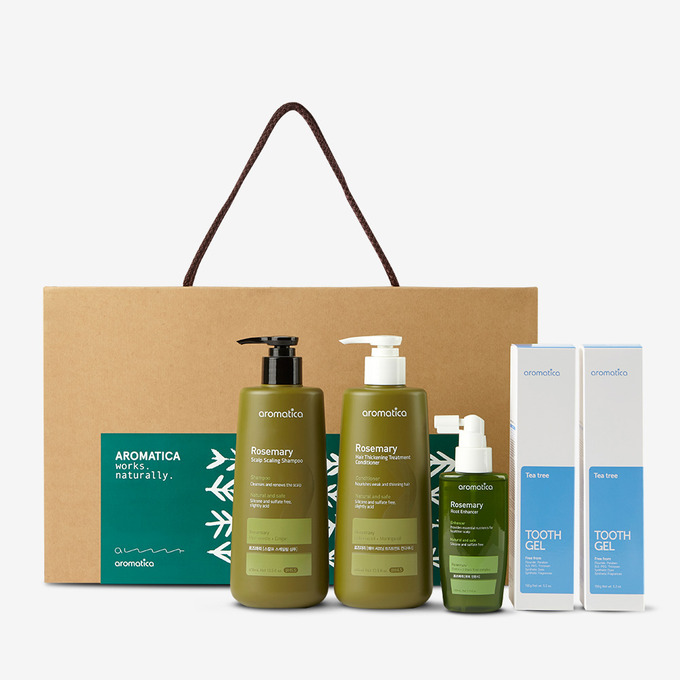 Rosemary Hair Care & Toothpaste Gift SET