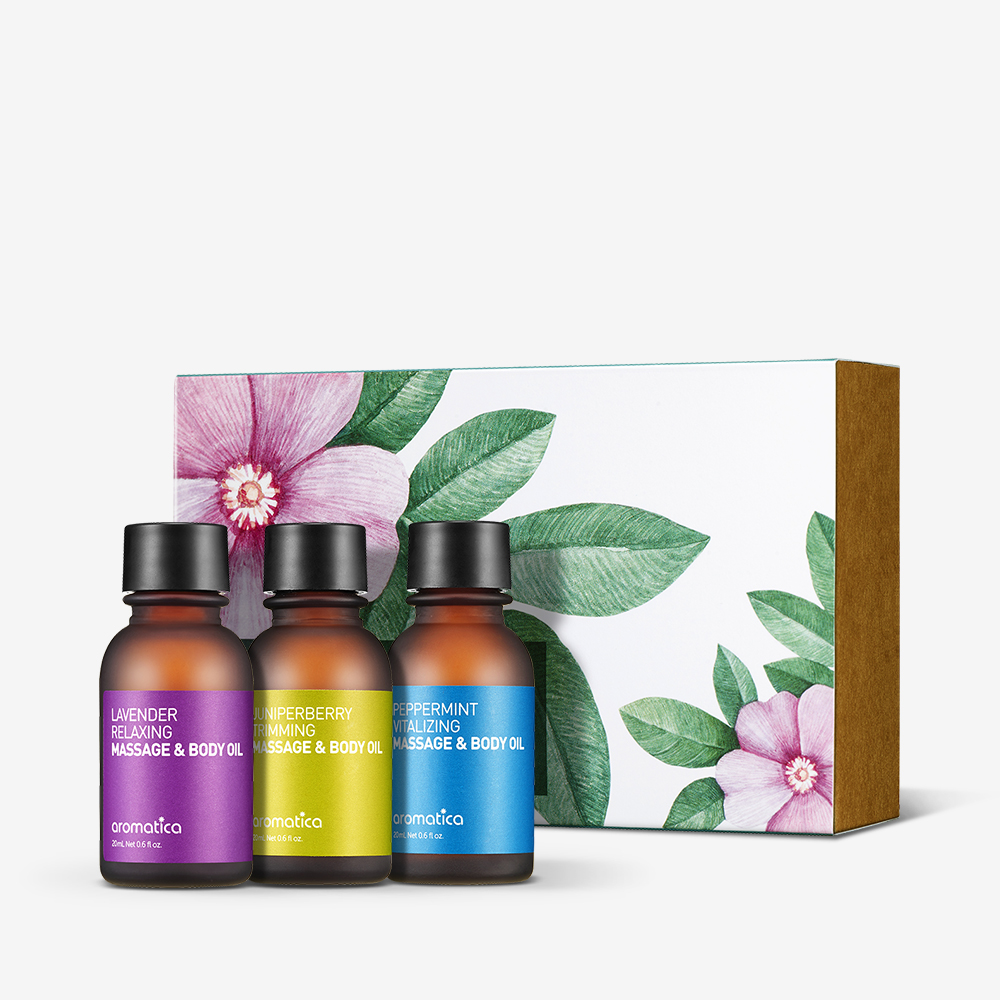 Holistic Aromatherapy Massage & Body Oil Collection