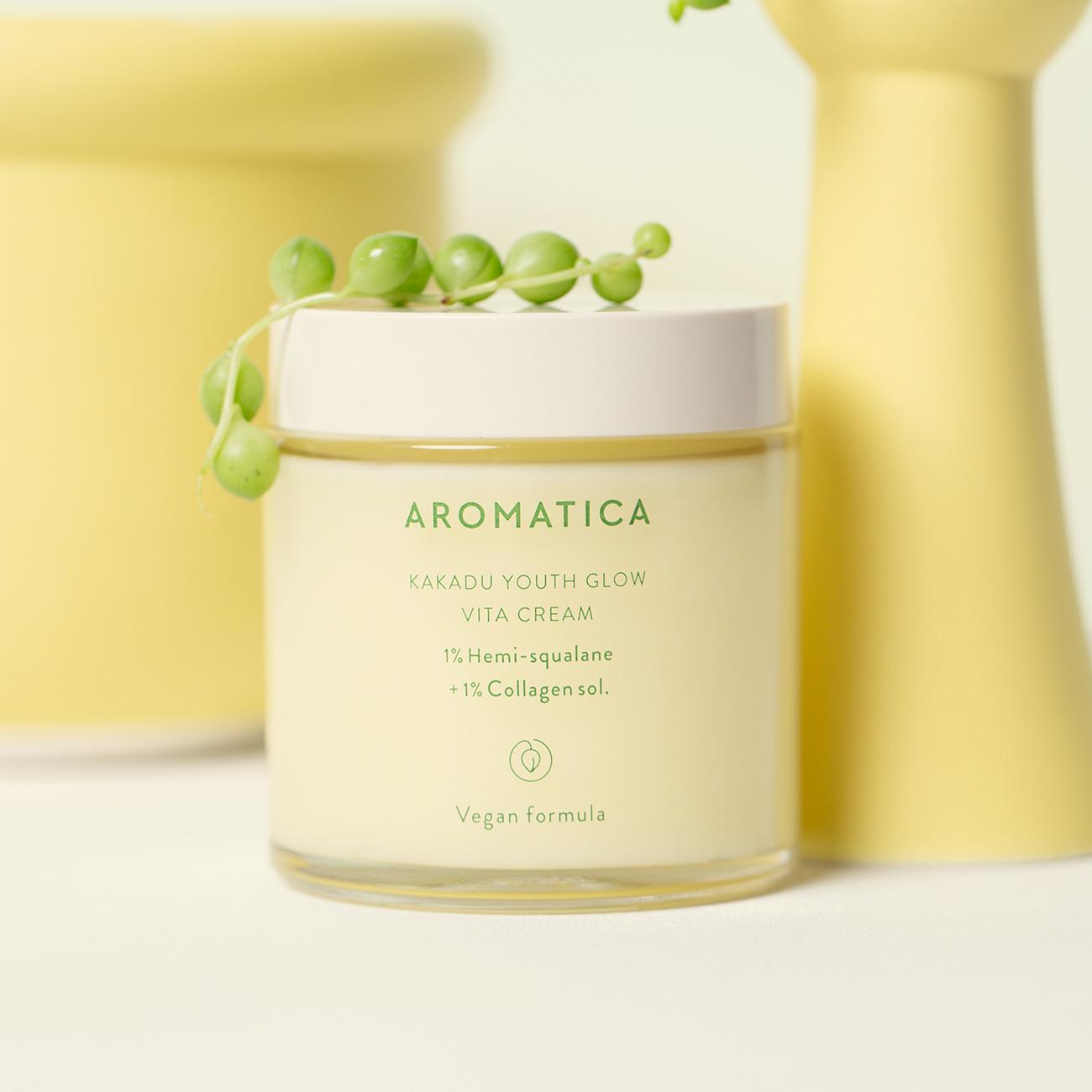 Kakadu Youth Glow Vita Cream1% Hemisqualane + 1% Collagen sol.