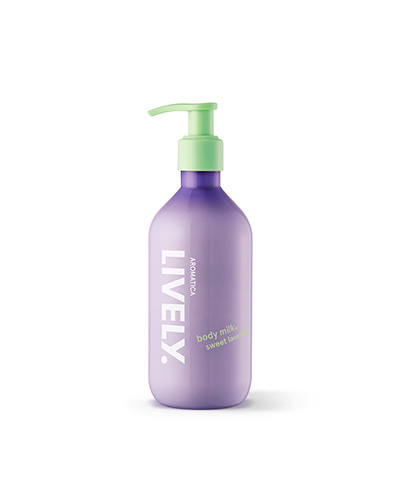 Lively Body Milk, Sweet Lavender