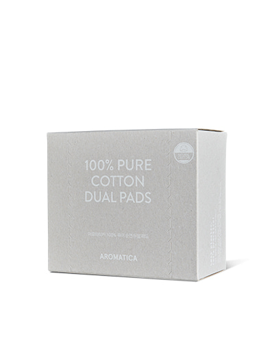100% Pure Dual Cotton Pads