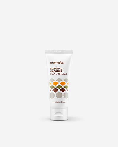 Natural Coconut Hand Cream